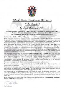 12112 Certificate